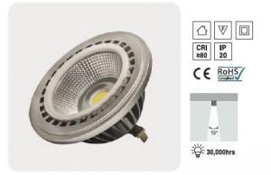 LAMPARA LED AR111 12W
